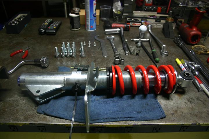 Alfa 4C suspension